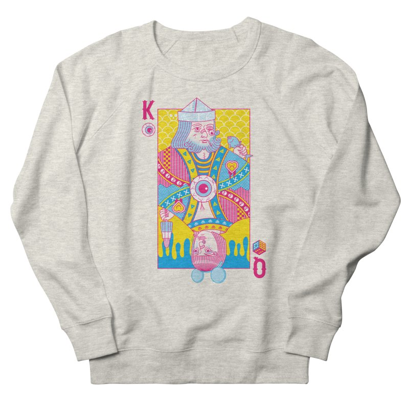 King of Nothing, Queen of Nowhere Women's French Terry Sweatshirt by Quick Brown Fox