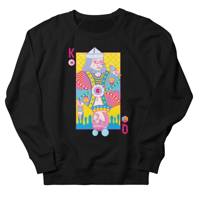 King of Nothing, Queen of Nowhere Men's Sweatshirt by Quick Brown Fox