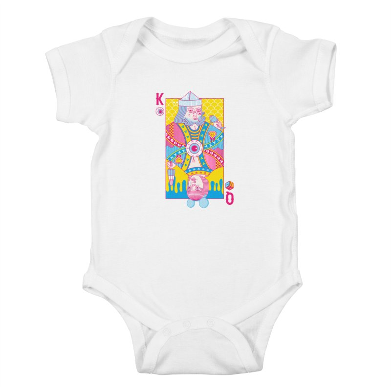 King of Nothing, Queen of Nowhere Kids Baby Bodysuit by Quick Brown Fox