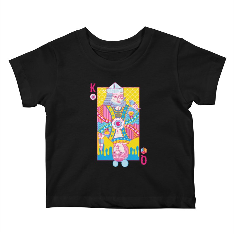 King of Nothing, Queen of Nowhere Kids Baby T-Shirt by Quick Brown Fox
