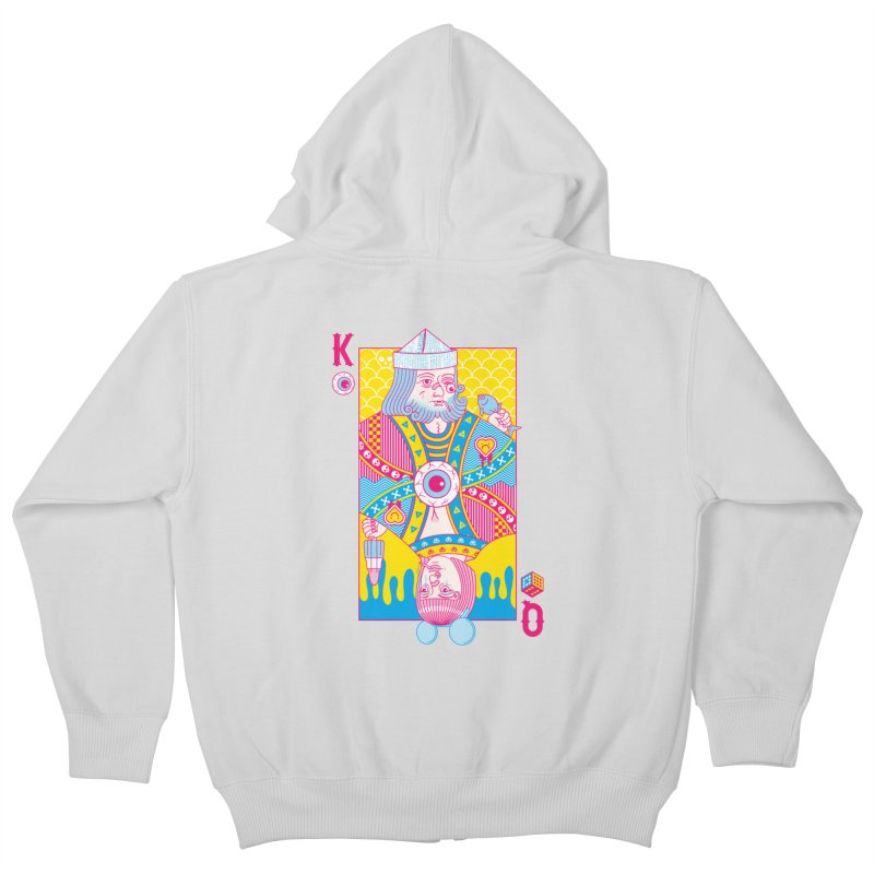 King of Nothing, Queen of Nowhere Kids Zip-Up Hoody by Quick Brown Fox