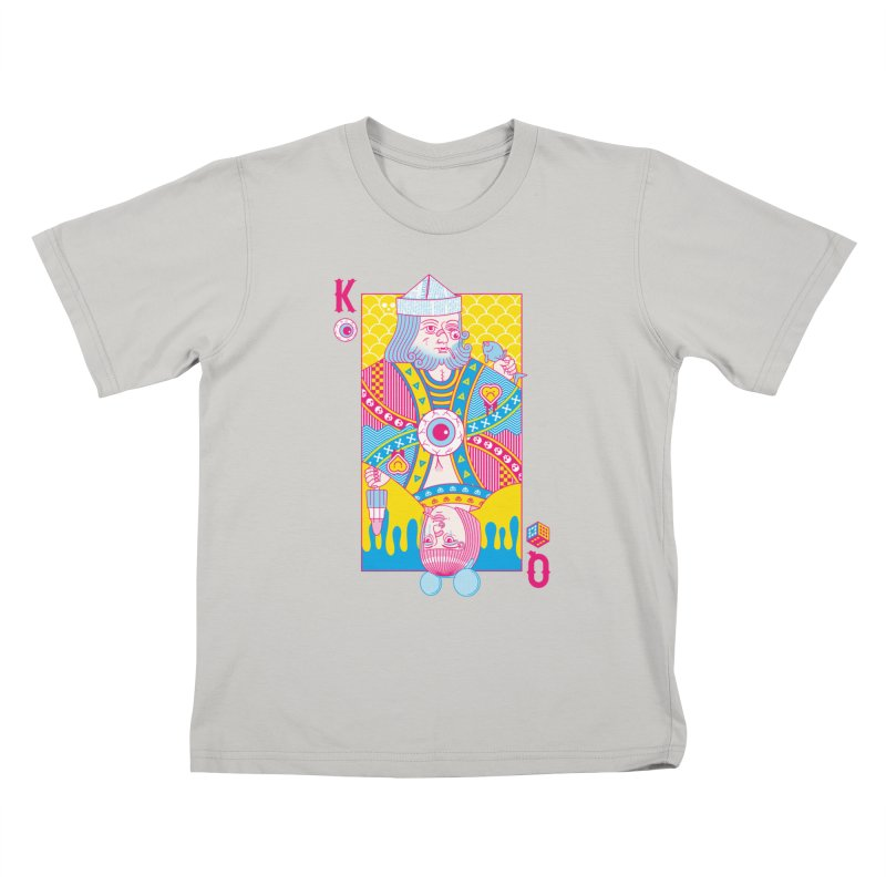 King of Nothing, Queen of Nowhere Kids T-Shirt by Quick Brown Fox