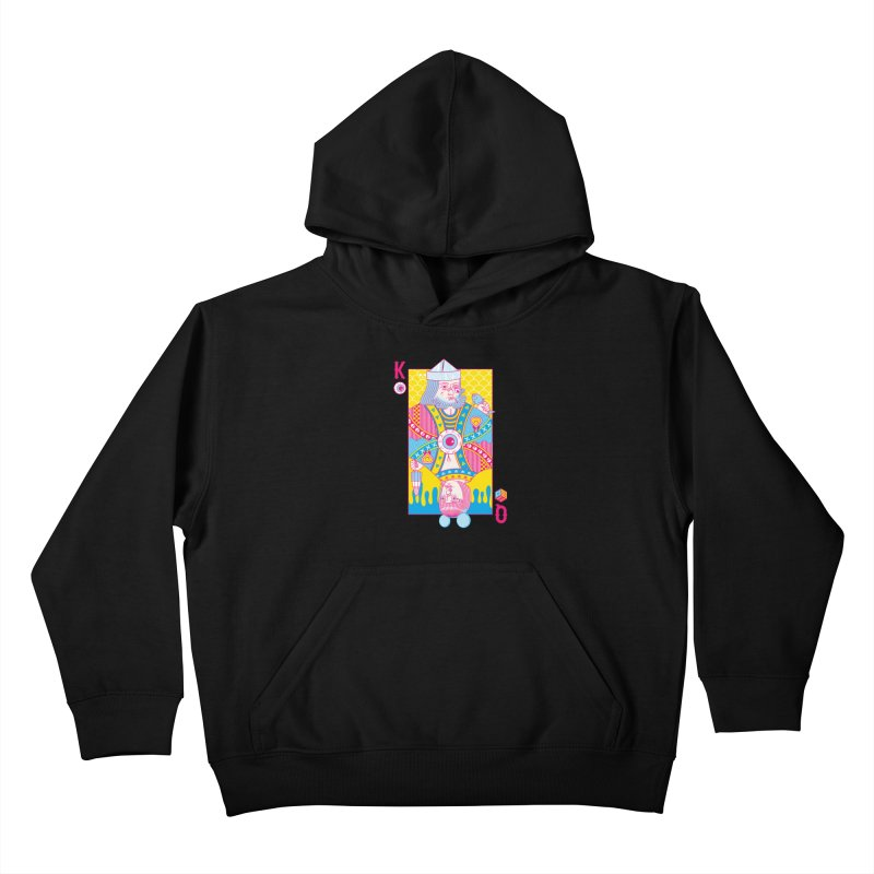 King of Nothing, Queen of Nowhere Kids Pullover Hoody by Quick Brown Fox