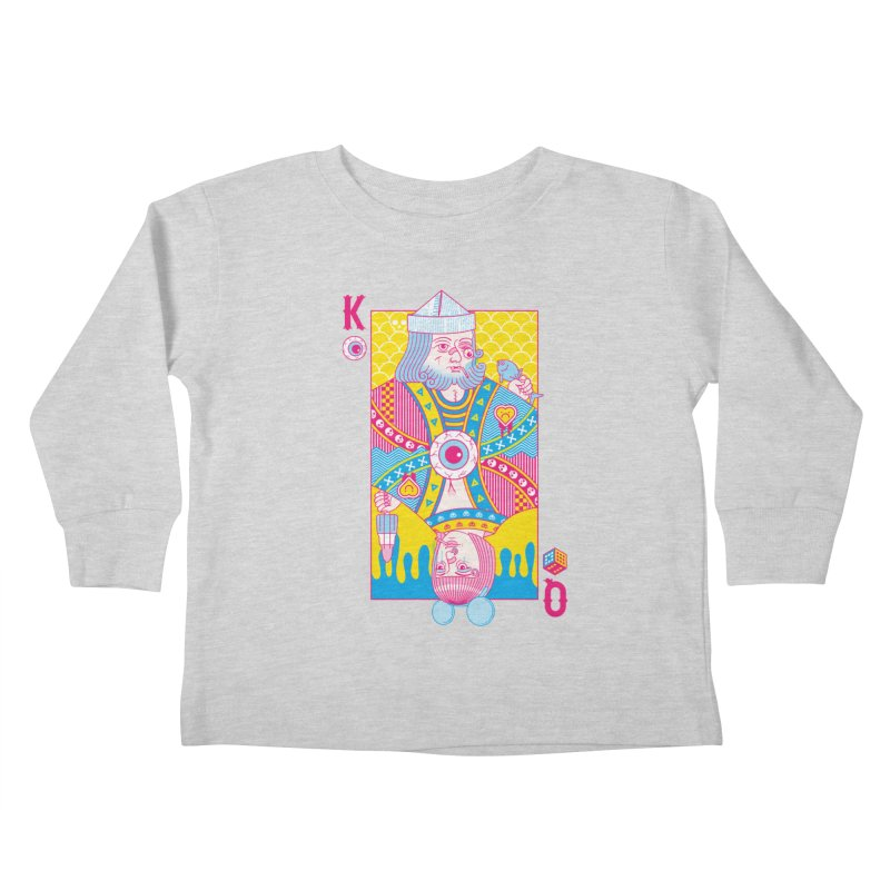King of Nothing, Queen of Nowhere Kids Toddler Longsleeve T-Shirt by Quick Brown Fox