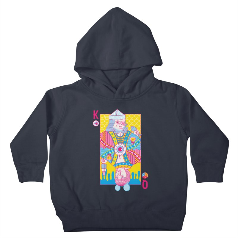King of Nothing, Queen of Nowhere Kids Toddler Pullover Hoody by Quick Brown Fox