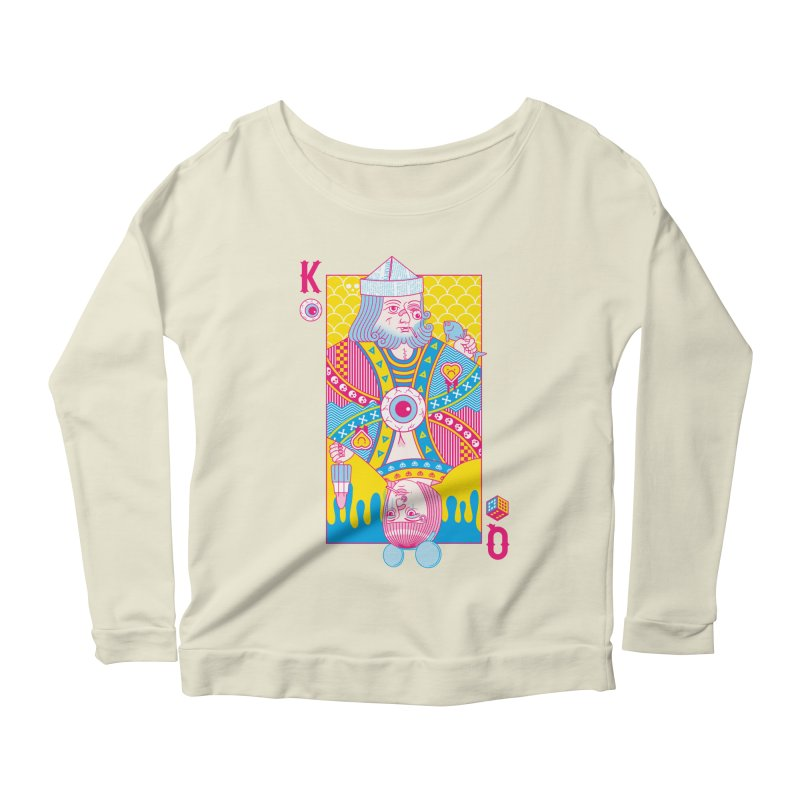 King of Nothing, Queen of Nowhere Women's Longsleeve Scoopneck  by Quick Brown Fox
