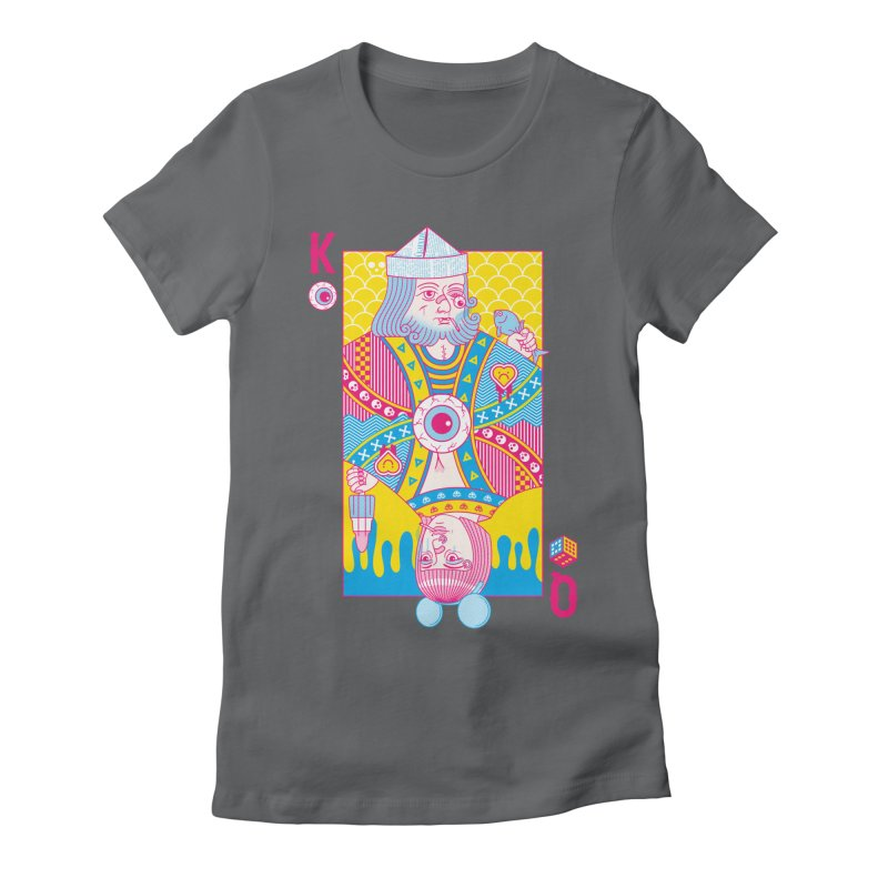King of Nothing, Queen of Nowhere Women's Fitted T-Shirt by Quick Brown Fox