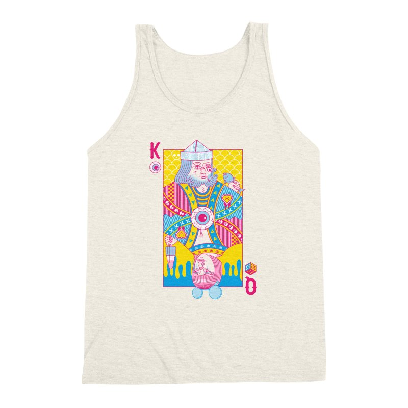 King of Nothing, Queen of Nowhere Men's Triblend Tank by Quick Brown Fox