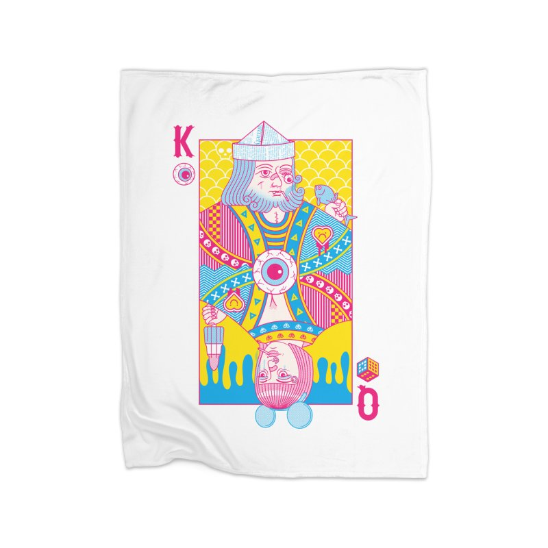 King of Nothing, Queen of Nowhere Home Blanket by Quick Brown Fox