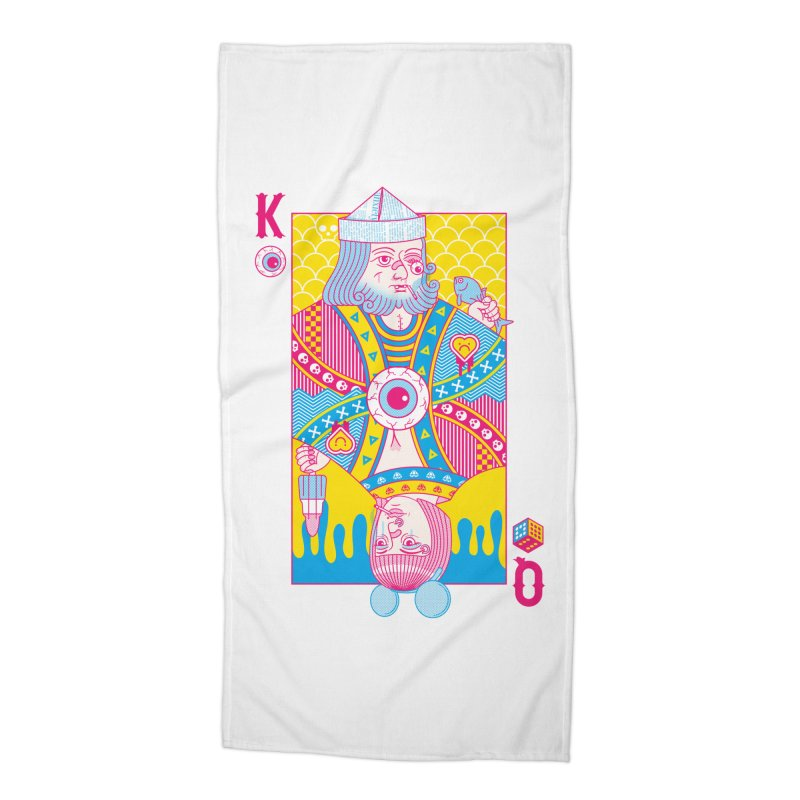 King of Nothing, Queen of Nowhere Accessories Beach Towel by Quick Brown Fox