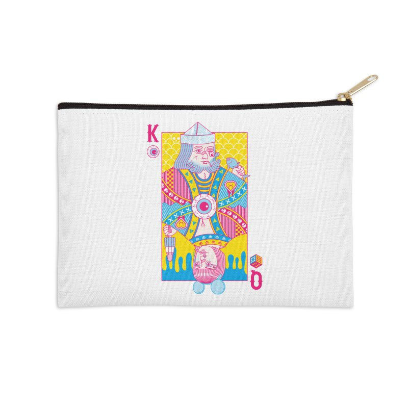 King of Nothing, Queen of Nowhere Accessories Zip Pouch by Quick Brown Fox