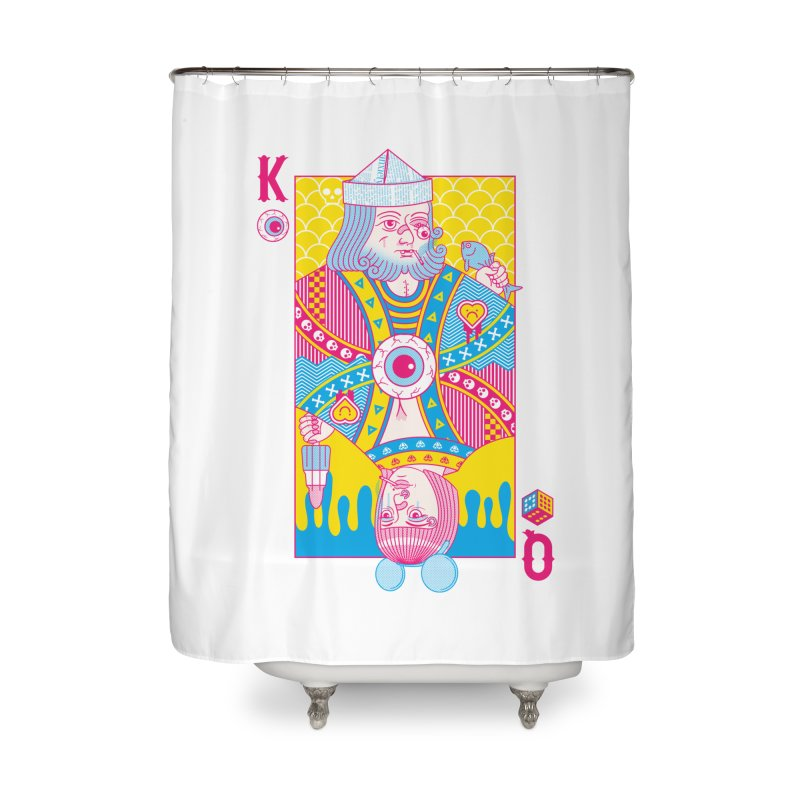 King of Nothing, Queen of Nowhere Home Shower Curtain by Quick Brown Fox