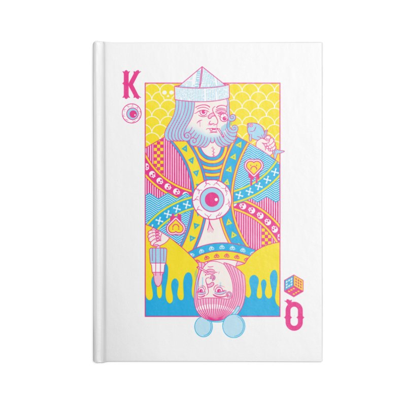 King of Nothing, Queen of Nowhere Accessories Notebook by Quick Brown Fox