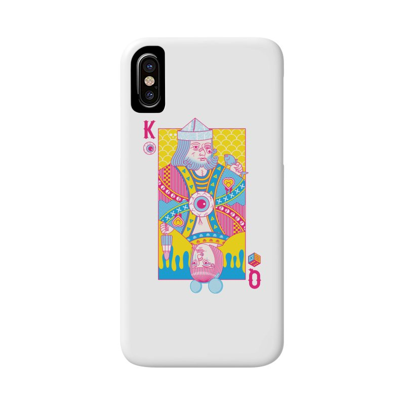 King of Nothing, Queen of Nowhere Accessories Phone Case by Quick Brown Fox