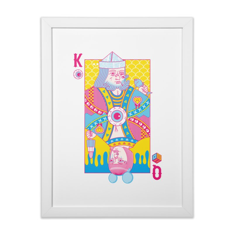 King of Nothing, Queen of Nowhere Home Framed Fine Art Print by Quick Brown Fox