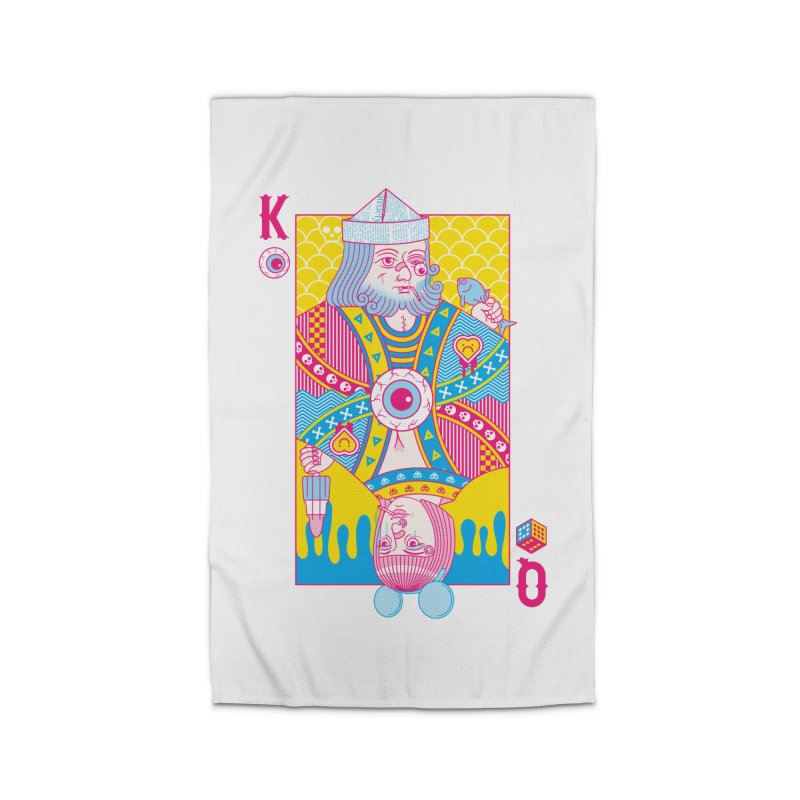King of Nothing, Queen of Nowhere Home Rug by Quick Brown Fox