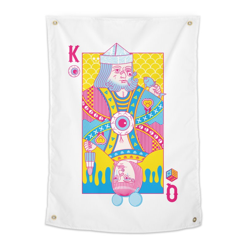 King of Nothing, Queen of Nowhere Home Tapestry by Quick Brown Fox