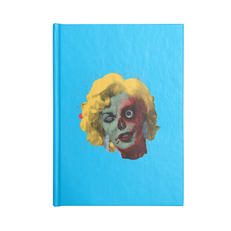 Gentlemen Prefer Zombs Accessories Notebook by Quick Brown Fox