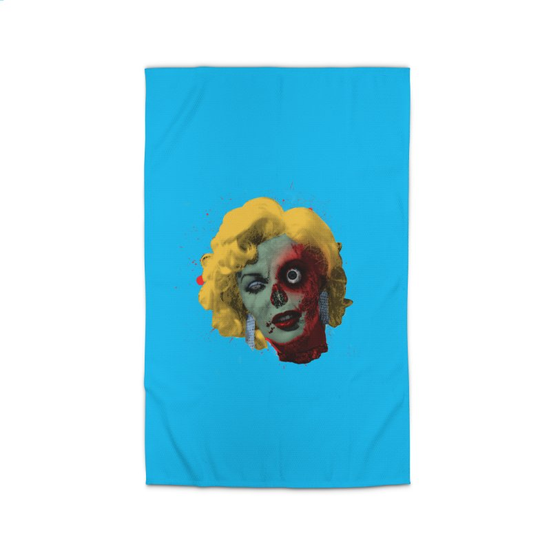 Gentlemen Prefer Zombs Home Rug by Quick Brown Fox