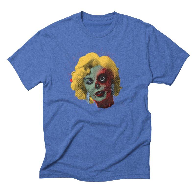 Gentlemen Prefer Zombs Men's T-Shirt by Quick Brown Fox