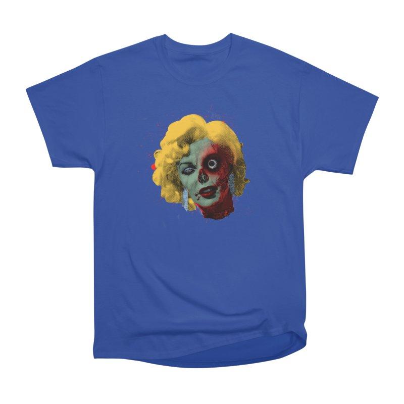 Gentlemen Prefer Zombs Men's Heavyweight T-Shirt by Quick Brown Fox