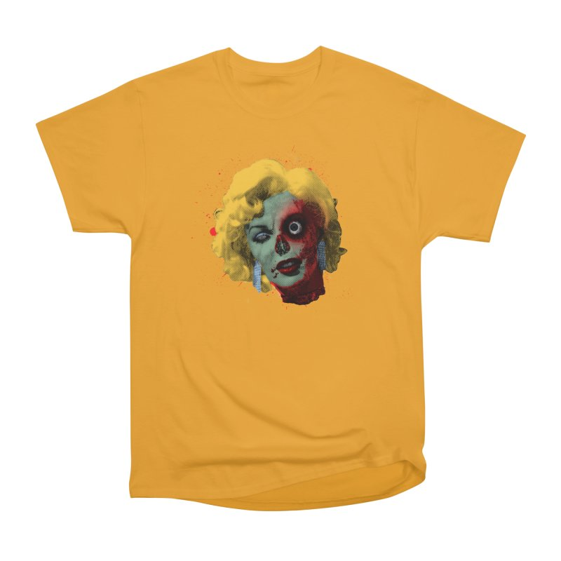 Gentlemen Prefer Zombs Men's Classic T-Shirt by Quick Brown Fox