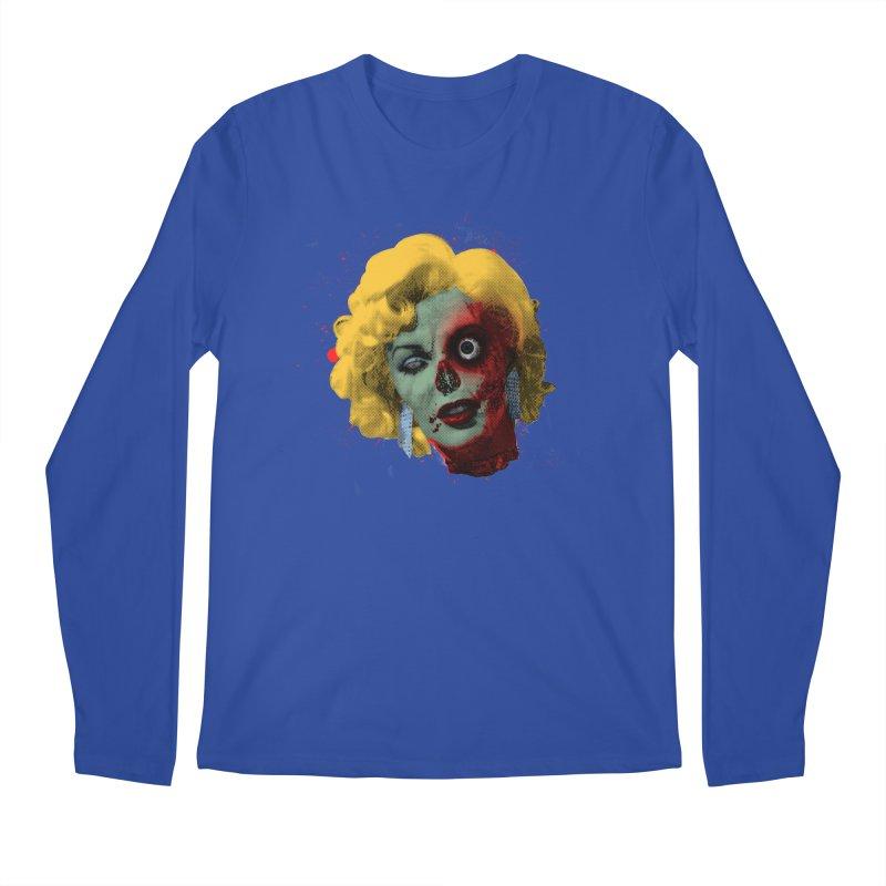 Gentlemen Prefer Zombs Men's Longsleeve T-Shirt by Quick Brown Fox