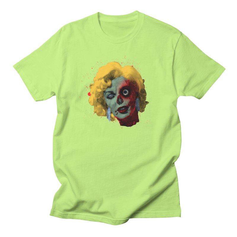 Gentlemen Prefer Zombs Men's Regular T-Shirt by Quick Brown Fox