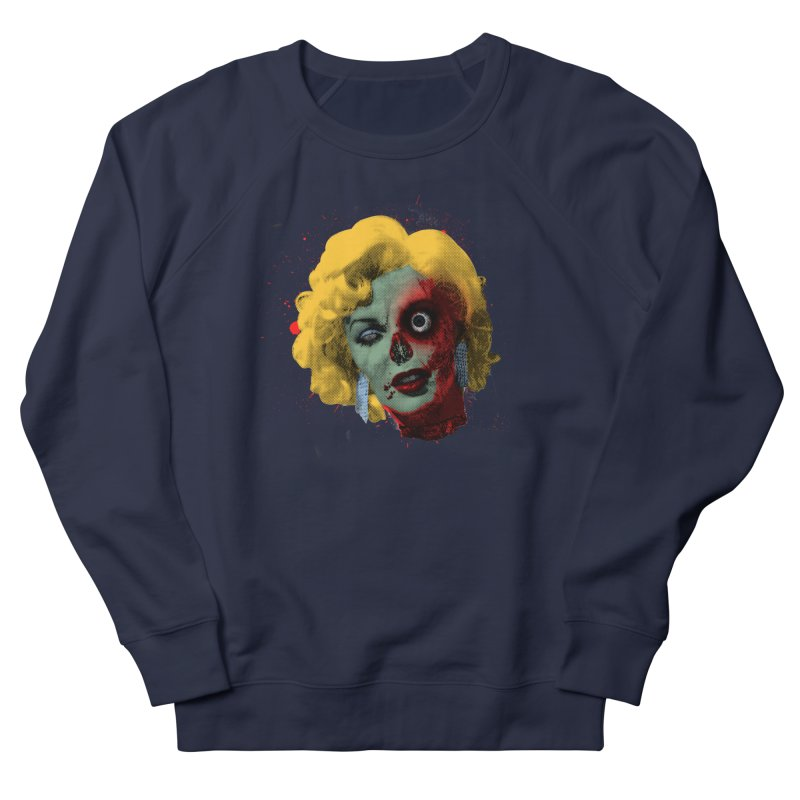 Gentlemen Prefer Zombs Women's French Terry Sweatshirt by Quick Brown Fox