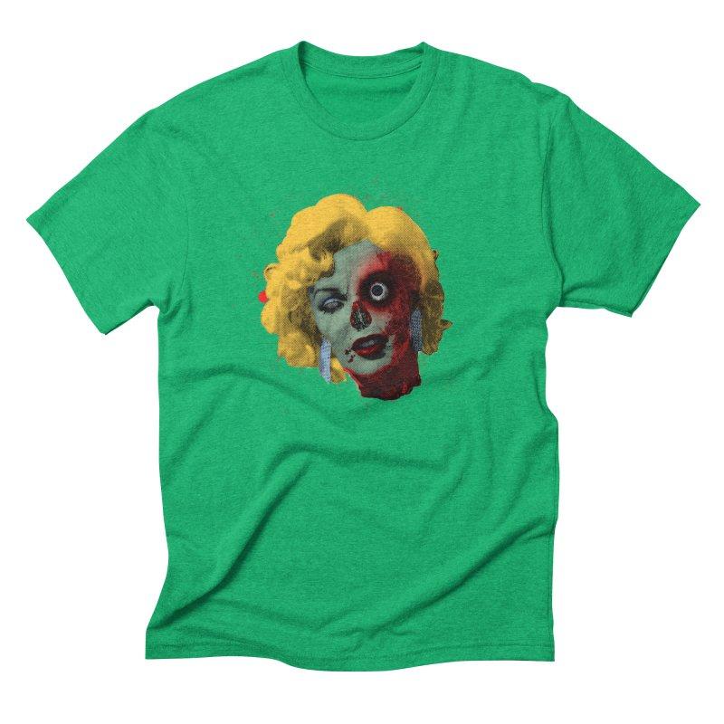 Gentlemen Prefer Zombs Men's Triblend T-Shirt by Quick Brown Fox
