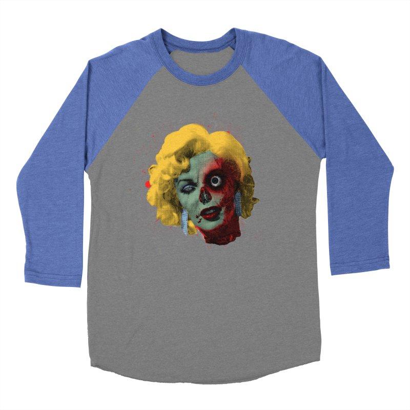 Gentlemen Prefer Zombs Men's Baseball Triblend Longsleeve T-Shirt by Quick Brown Fox