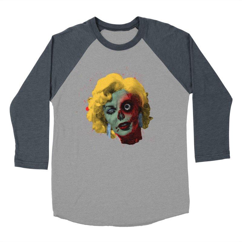 Gentlemen Prefer Zombs Men's Baseball Triblend T-Shirt by Quick Brown Fox