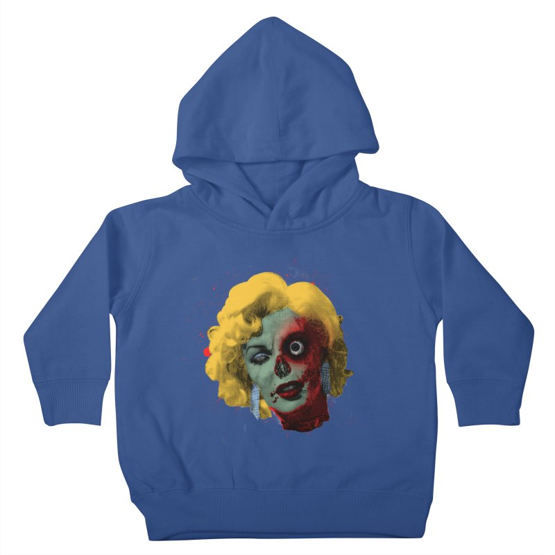 Gentlemen Prefer Zombs Kids Toddler Pullover Hoody by Quick Brown Fox