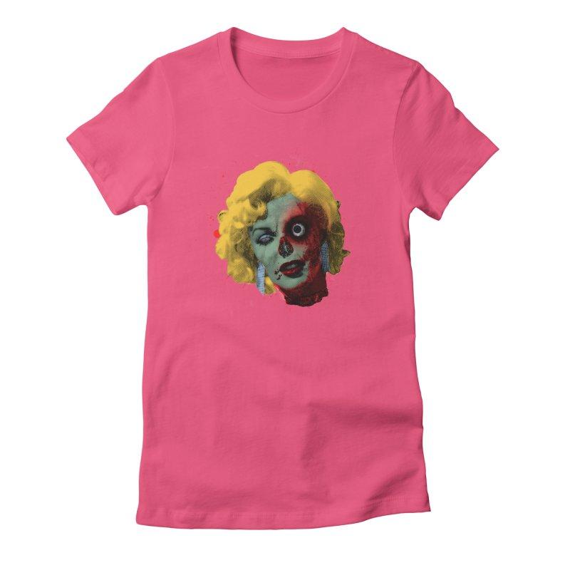 Gentlemen Prefer Zombs Women's Fitted T-Shirt by Quick Brown Fox