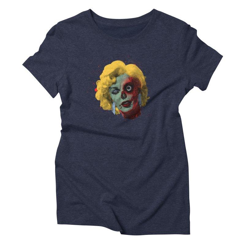 Gentlemen Prefer Zombs Women's Triblend T-Shirt by Quick Brown Fox