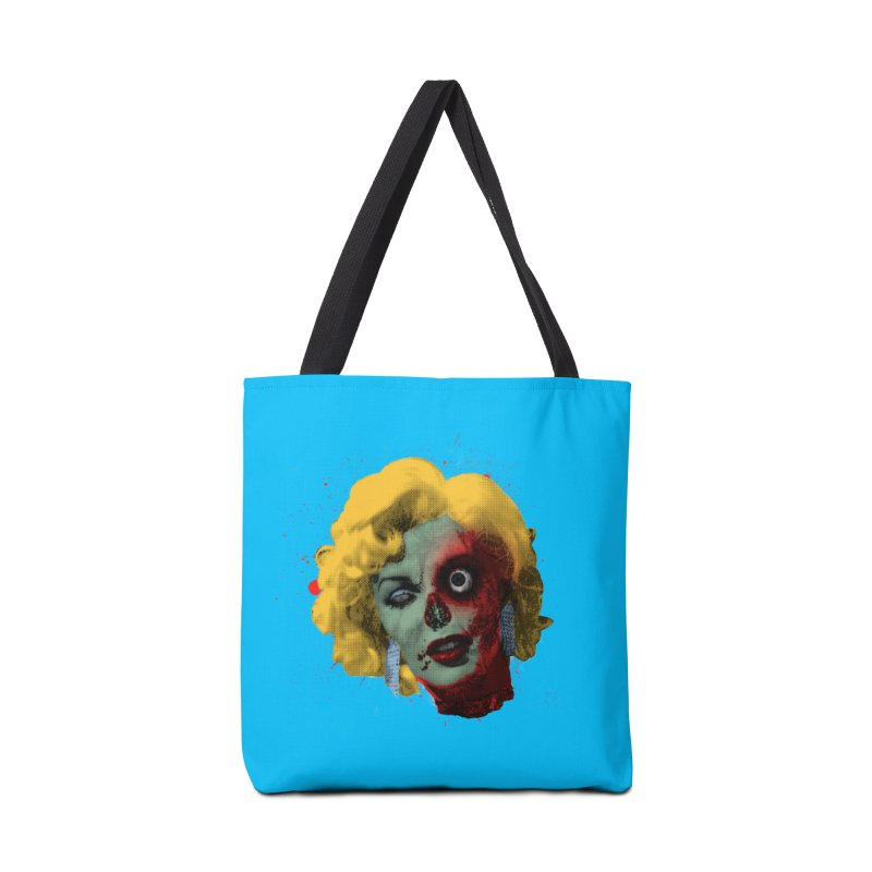 Gentlemen Prefer Zombs Accessories Tote Bag Bag by Quick Brown Fox