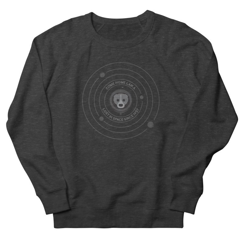 COME HOME LAIKA Men's Sweatshirt by Quick Brown Fox