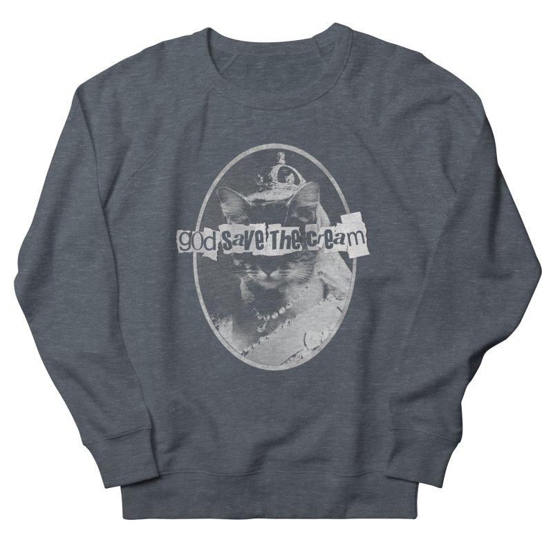 Never Mind the Furballs Men's Sweatshirt by Quick Brown Fox