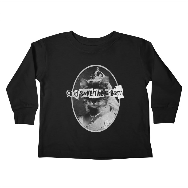 Never Mind the Furballs Kids Toddler Longsleeve T-Shirt by Quick Brown Fox