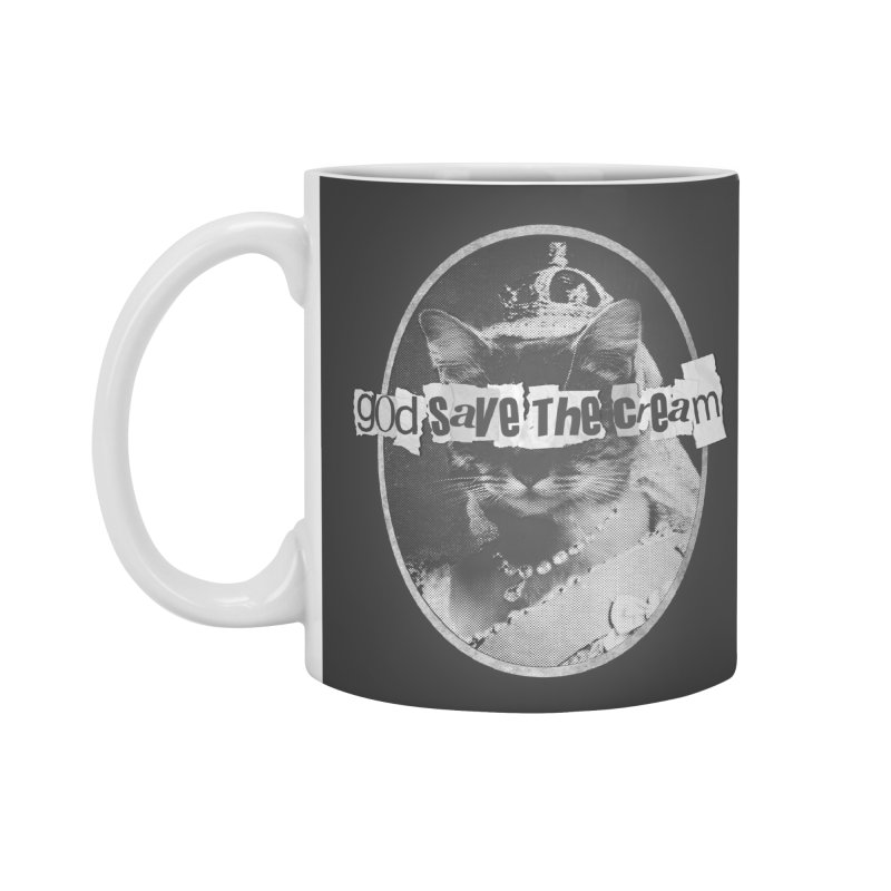 Never Mind the Furballs Accessories Standard Mug by Quick Brown Fox