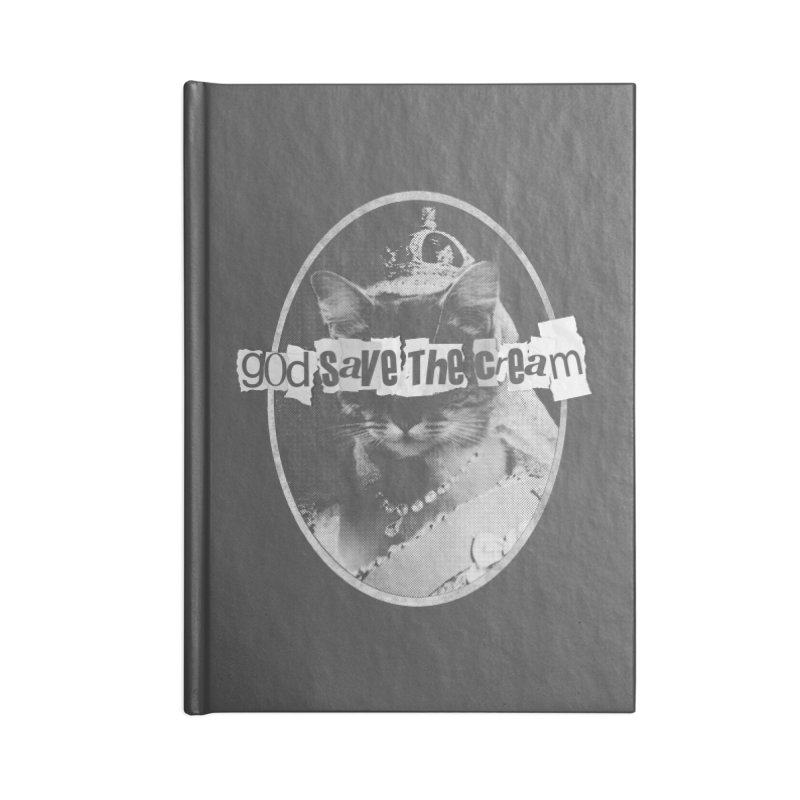 Never Mind the Furballs Accessories Blank Journal Notebook by Quick Brown Fox