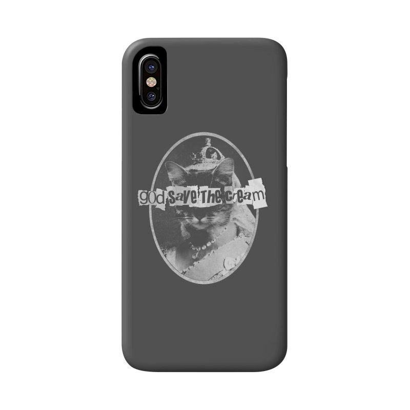 Never Mind the Furballs Accessories Phone Case by Quick Brown Fox