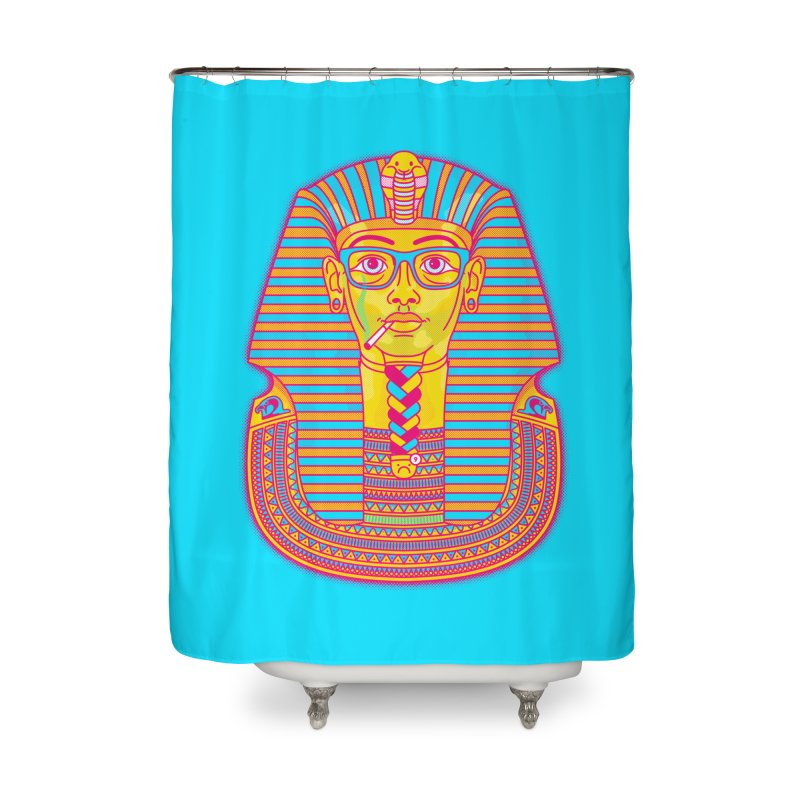 So Much to do, Such Little Time Home Shower Curtain by Quick Brown Fox