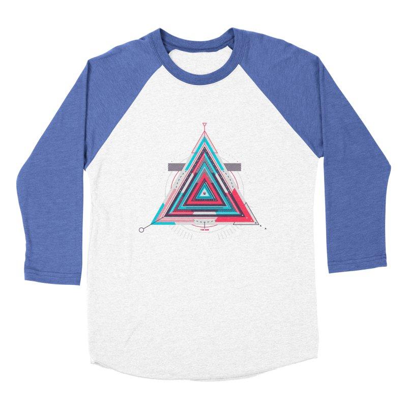No Happy Endings Women's Baseball Triblend T-Shirt by Quick Brown Fox