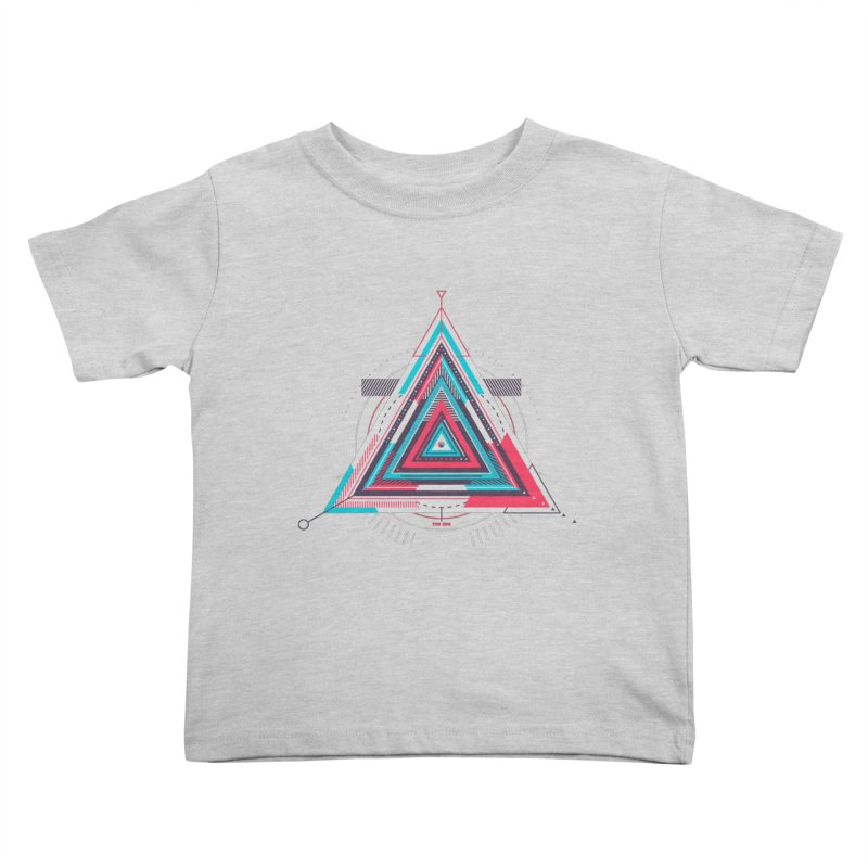 No Happy Endings Kids Toddler T-Shirt by Quick Brown Fox