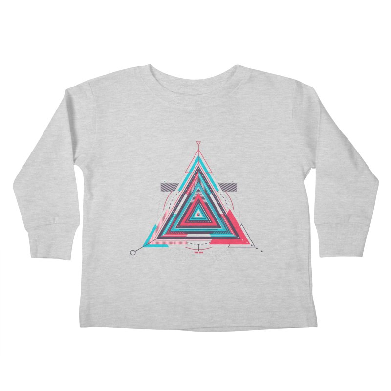 No Happy Endings Kids Toddler Longsleeve T-Shirt by Quick Brown Fox