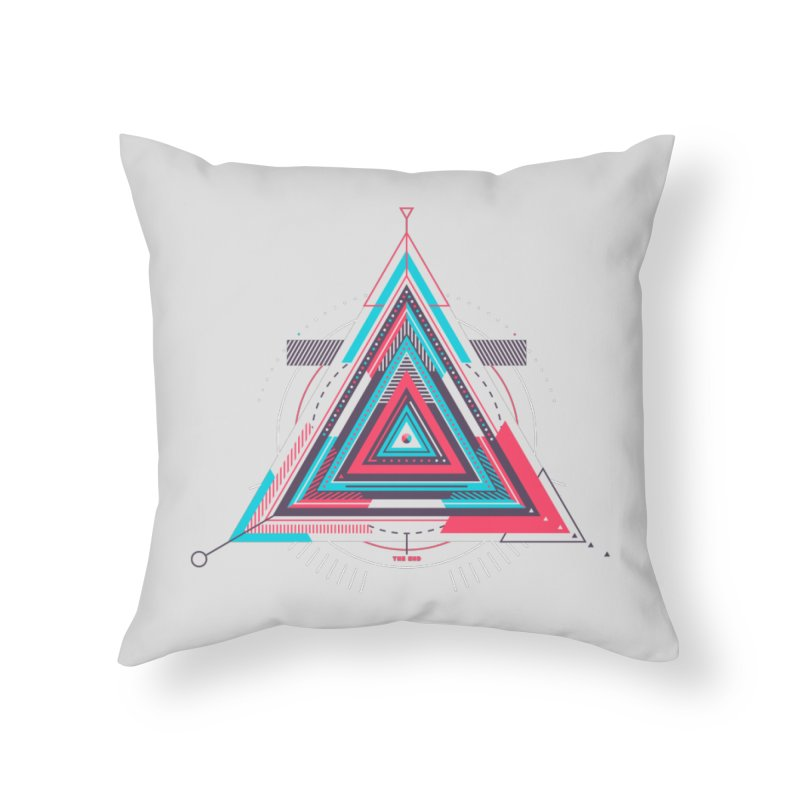 No Happy Endings Home Throw Pillow by Quick Brown Fox