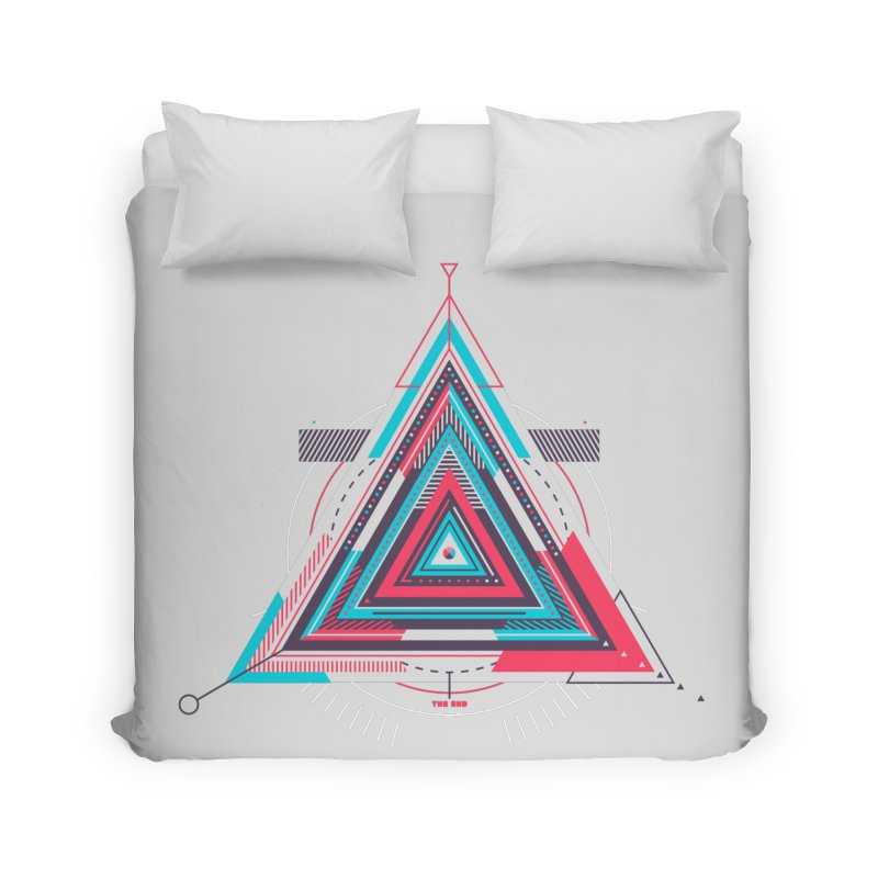 No Happy Endings Home Duvet by Quick Brown Fox