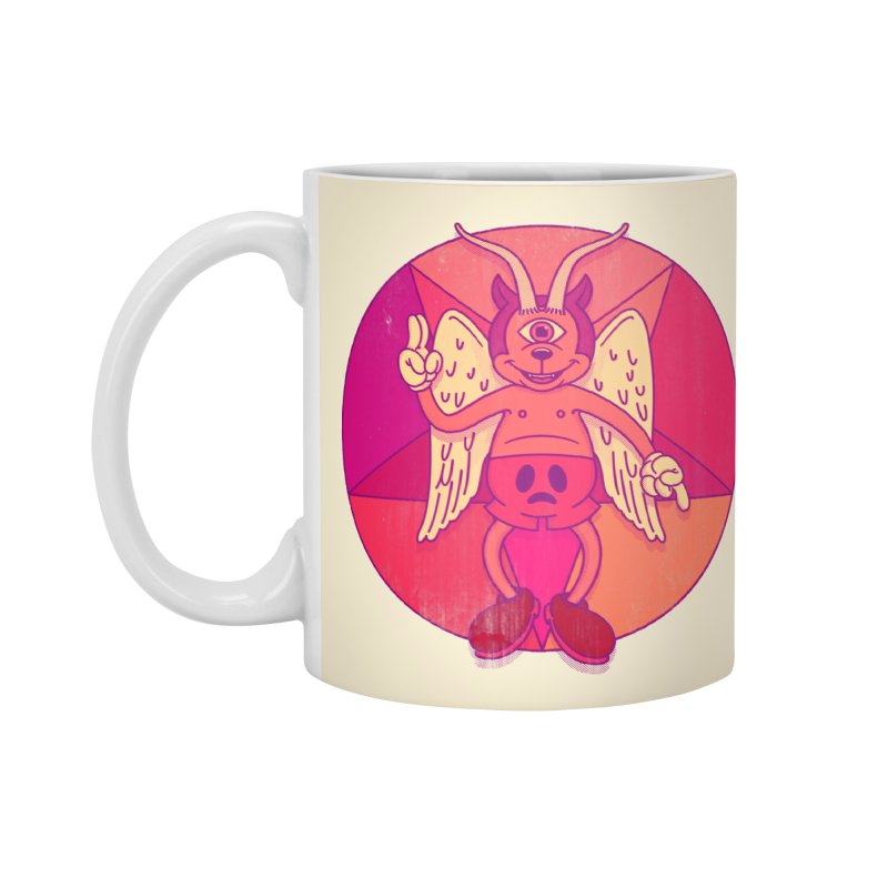 Georgie Goat Accessories Mug by Quick Brown Fox