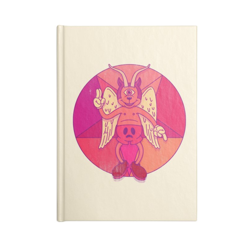 Georgie Goat Accessories Notebook by Quick Brown Fox